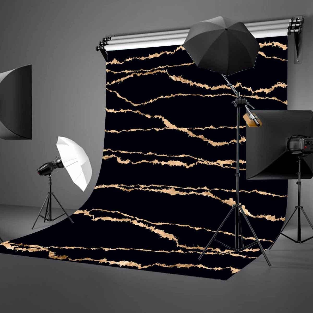 LYLYCTY 5x7ft Black Texture Backdrop Black Marble Floor Texture Photography Background and Studio Photography Backdrop Props LYGE757