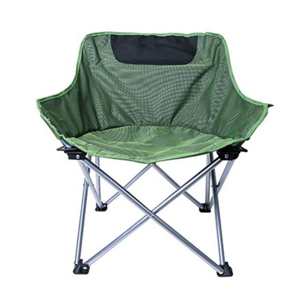 HM&DX Sillas de camping plegables exteriores Portátil ...