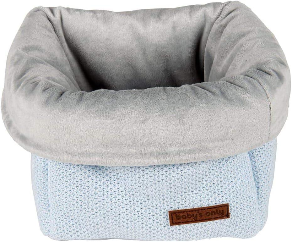 BO Babys Only Cesta c/ómoda Classic Mint 50/% algod/ón//50/% acr/ílico