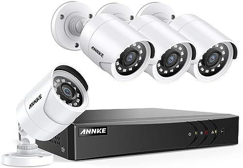 ANNKE 8CH 5MP-Lite Security Camera System H.265 DVR