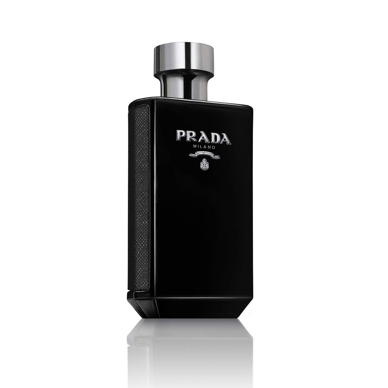 Prada L homme Intense Eau de Parfum Spray for Men, 5 Ounce
