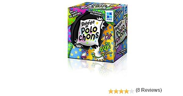 Megableu – 678118 – pequeño juego en recinto Metal – la batalla de polochons - , color/modelo surtido: Amazon.es: Juguetes y juegos