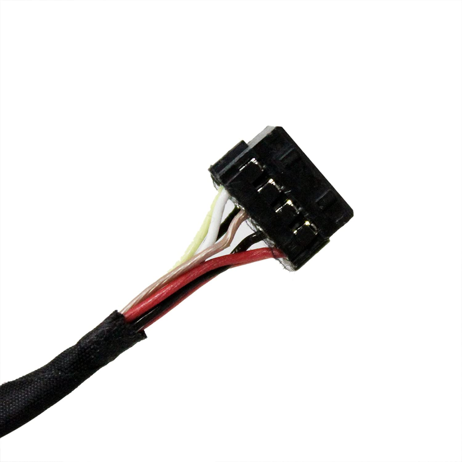 Gintai DC Power Port Jack Socket Cable Wire Replacement For HP ProBook 440 445 450 Seires 710431-YD1 721936-001 DW712