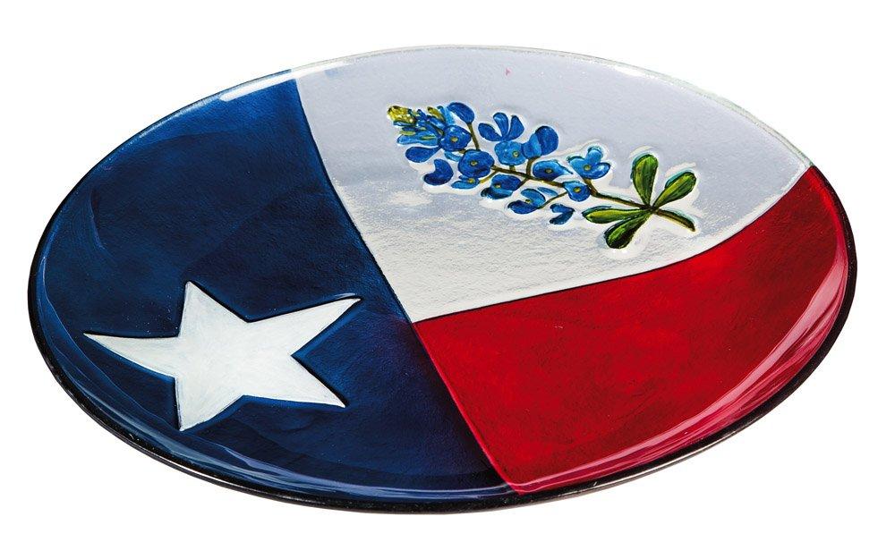 Texas State Flower 16'' Birdbath with Stand