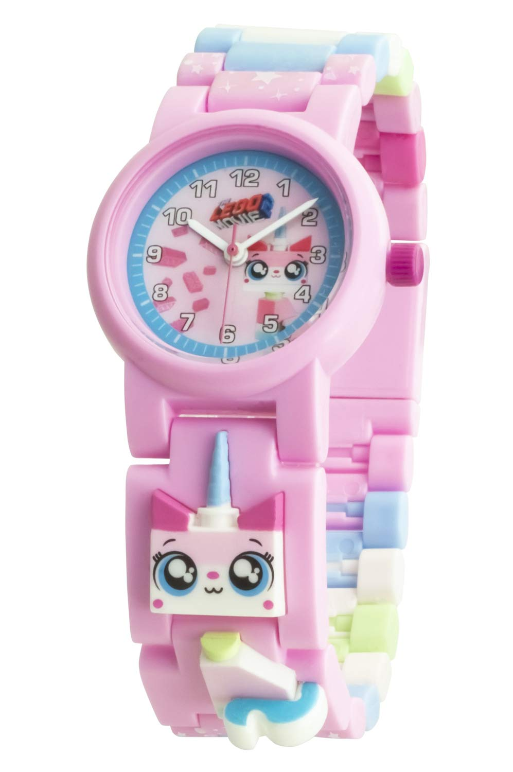 LEGO Watches and Clocks Girl's 'LEGO Movie 2' Quartz Plastic Watch by ClicTime