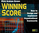 Winning Score - Audio Book - Compact Disk: How to Design and Implement Organizational Scorecards