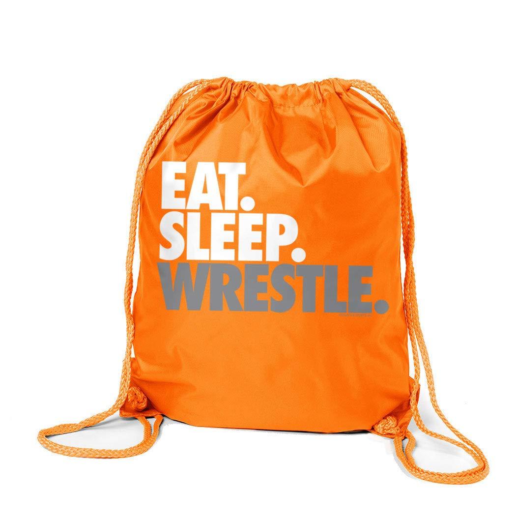 超人気高品質 Eat Eat Sleep Wrestle (区点) シンチサック | | ChalkTalkSPORTS B00VAIAQUU レスリングバッグ B00VAIAQUU オレンジ オレンジ, Island Style/アイランドスタイル:c01530d3 --- fenixevent.ee