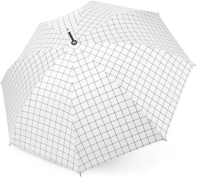 Conemmo Ins Umbrellas Korea Small Fresh rain and rain Dual-use Sen Simple Umbrella Female Retro Long Handle Umbrella Automatic Student