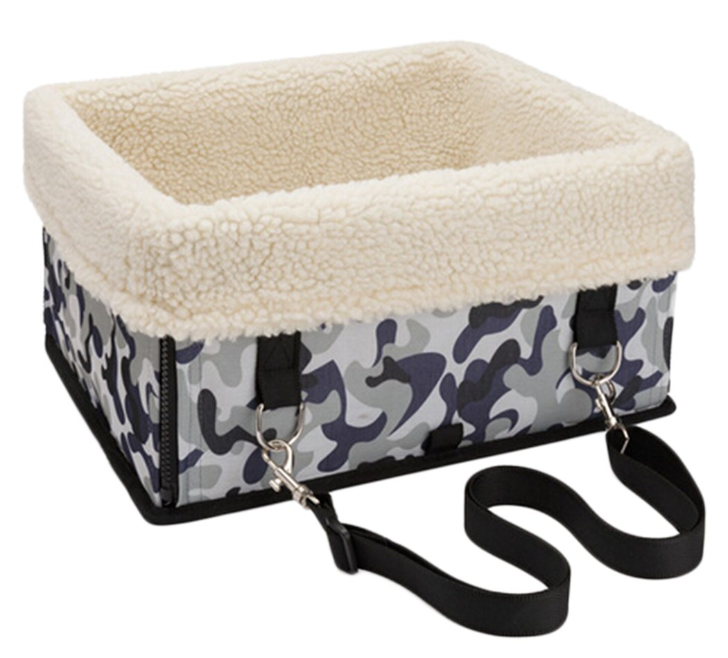 Legendog Pet Booster Seat, Portable Waterproof Collapsible Pet Car Seat for Small Animals