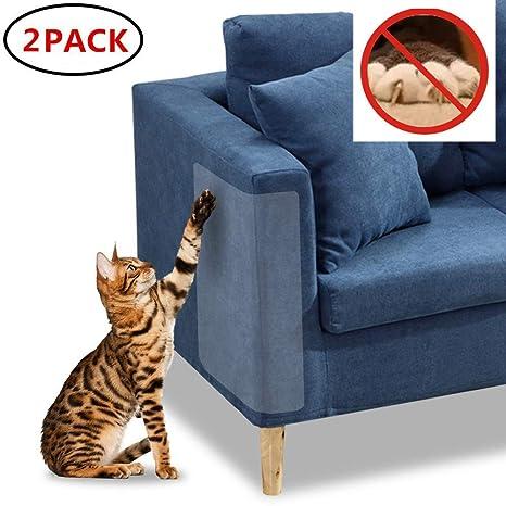 Awaken - Protectores de arañazos para Muebles, 2 Protectores de Poliuretano para Mascotas, Resistentes
