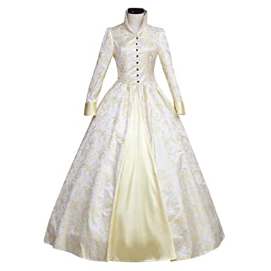 0095c492bc37c Amazon.com: 1791's lady Women's Victorian Rococo Dress Inspiration Maiden  Costume: Clothing