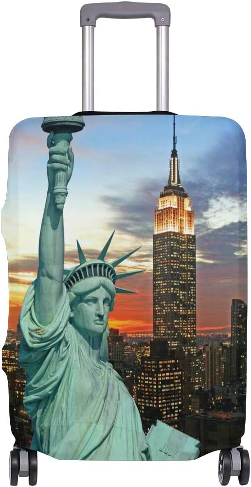 Funda para Maleta con diseño de la Estatua de la Libertad de Nueva York