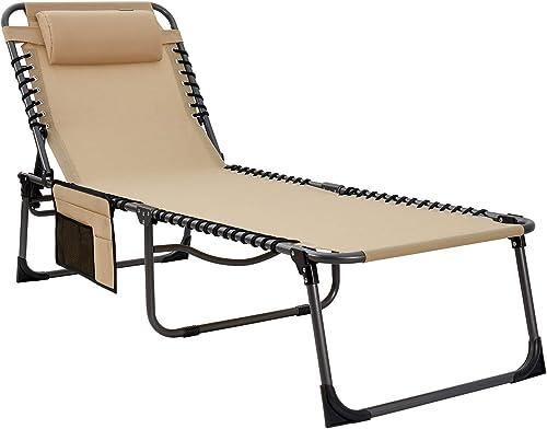 KingCamp Chaise Lounge Chair