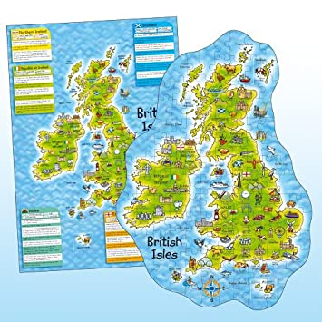 Orchard toys british isles puzzle and poster amazon toys games orchard toys british isles puzzle and poster gumiabroncs Image collections