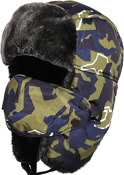 c036437ba Winter Trooper Trapper Hat, Super Warm Hunting Hat for Men Women Kids