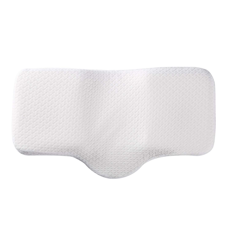 Amazon.com: coolux contorno almohada suave anti ronquido ...
