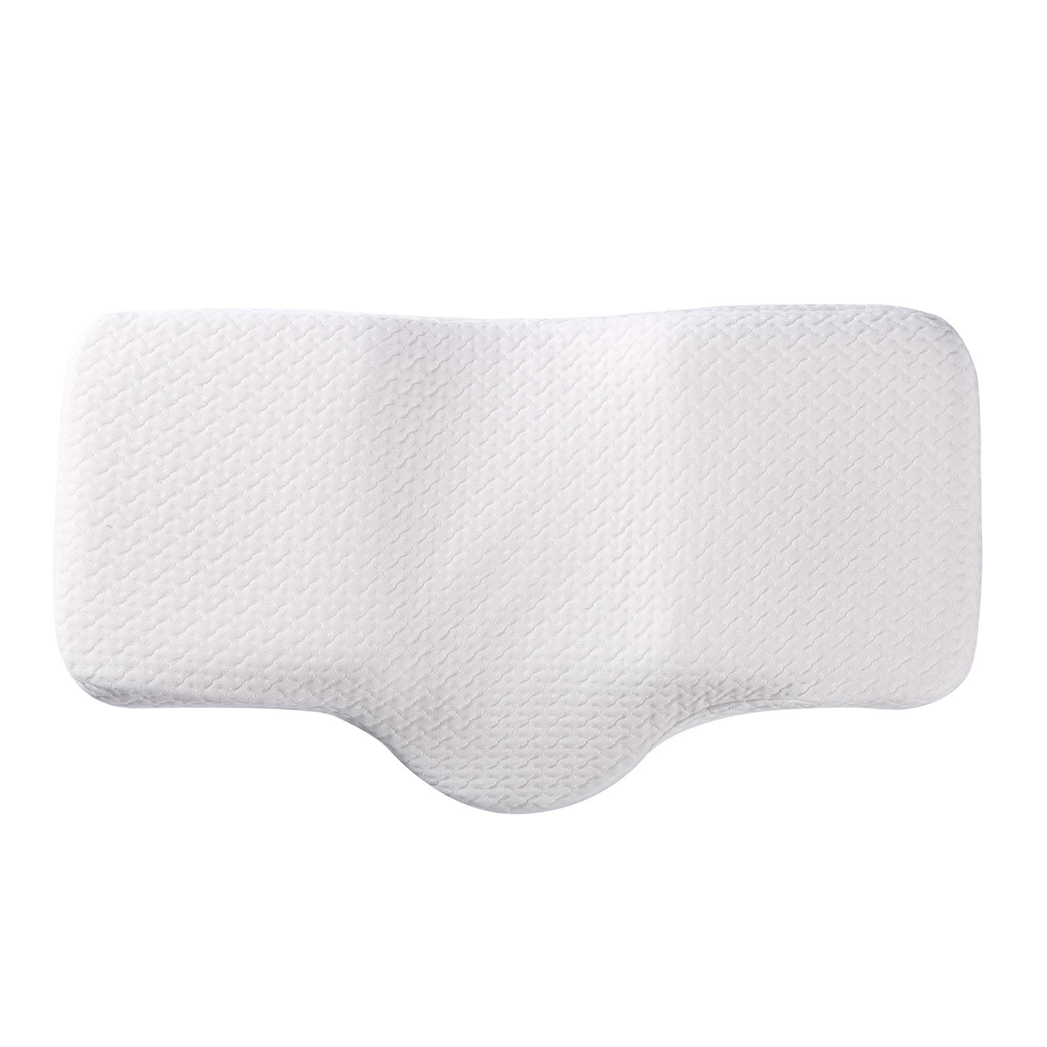 Soft Anti Snore Pillow,Sleep Support Pillow for Back/Side Sleepers,Wellness Memory Foam Cervical Side Sleeper Solution by Coolux (Image #5)