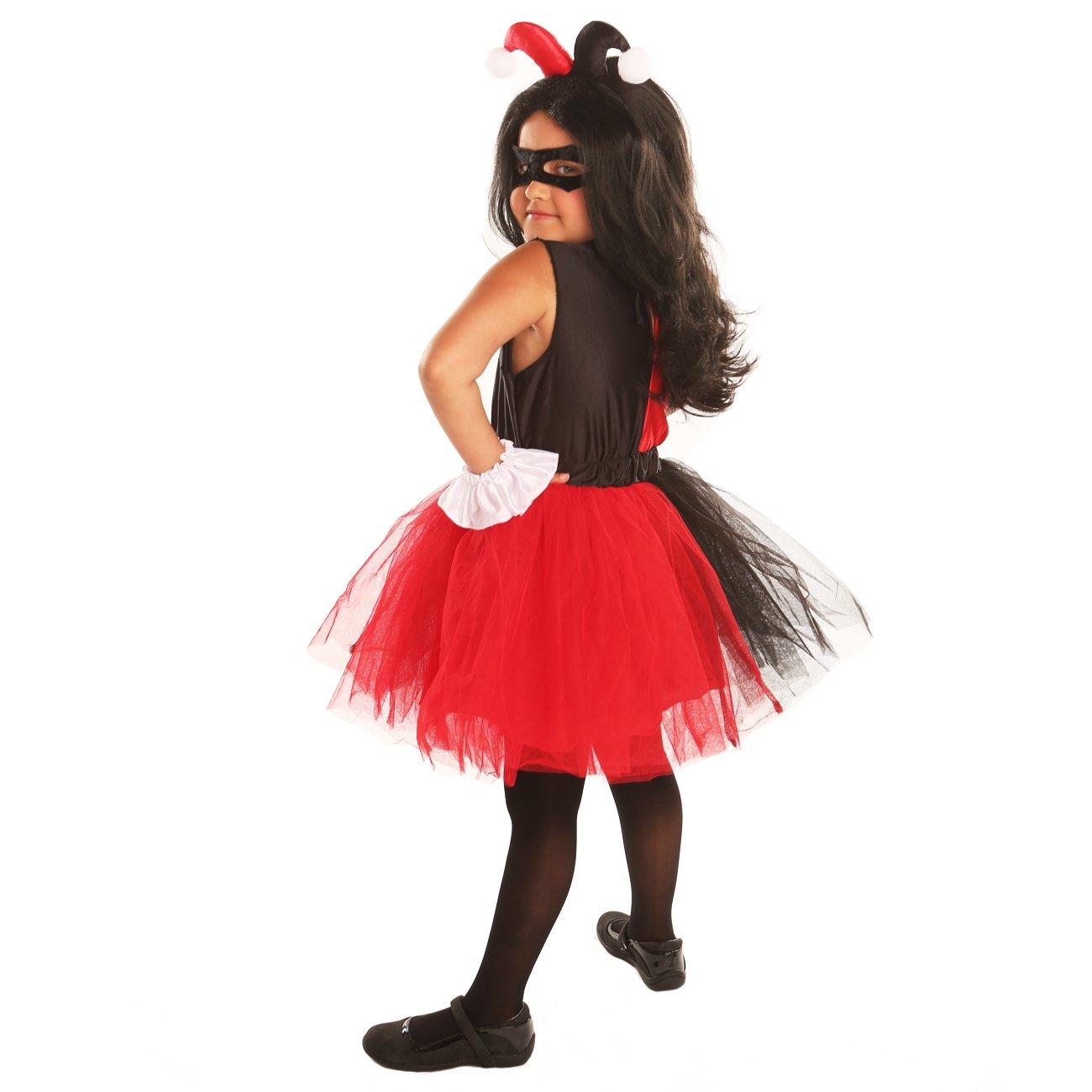 Amazon.com: disiao Harley Quinn payaso Halloween disfraz de ...