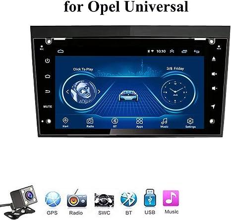 Android 8.1 Quad Core GPS Navegador Coche para Opel Universal - FM Am Radio del Coche, Conexión a Internet WiFi/BT, Soporte DVR USB/Llamadas Manos Libres,4g+WiFi: 1+16gb: Amazon.es: Deportes y aire libre