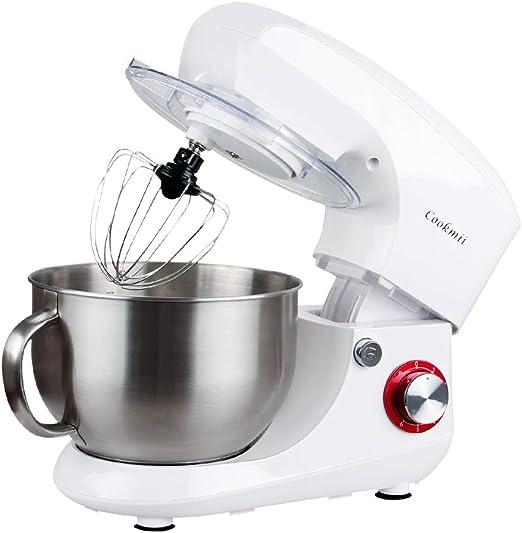 cookmii Robot de cocina multifunción con cuenco en inoxidable de ...