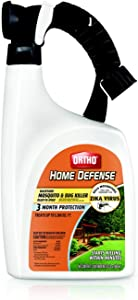Orthho 0437806 Home Defense Backyard Mosquito and Bug Killer Ready-to-Spray, 32 Ounce, 32 OZ