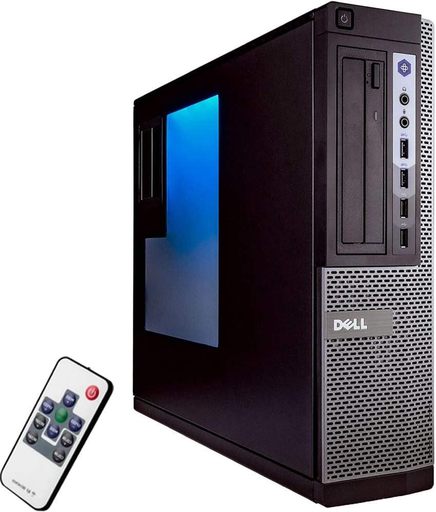 Dell OptiPlex 7010 Desktop Computer PC with RGB Lighting, Intel i5 Quad-Core 3.2GHz, 8GB RAM, 500GB Solid State Drive, DVD-RW, Windows 10 Home-64 BIT, WiFi (Renewed) (PC Only)