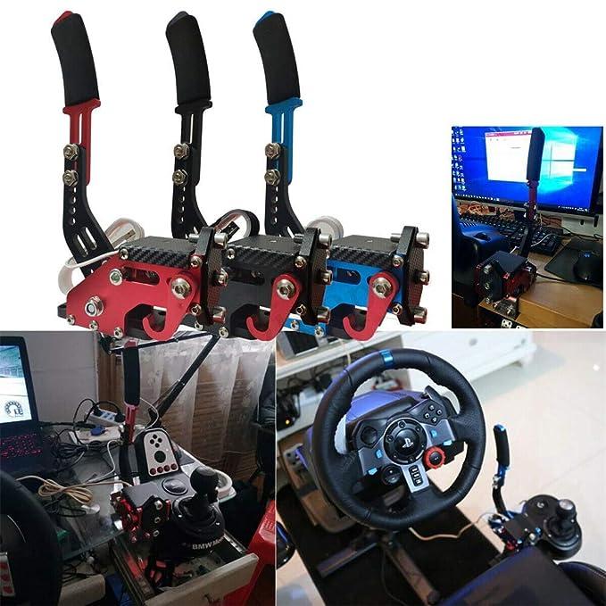 27//29 T300 T500 Fanatec Osw Dirt Rally Negro Gaetooely Nuevo Sistema de Freno 14 bit Hall Sensor USB Freno de Mano Sim para Juegos de Carreras G25