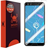 Google Pixel 3 Screen Protector [2-Pack, Case Compatible], Skinomi TechSkin [Full Edge Coverage] [High Definition] Non-Bubble Clear TPU Screen Protector Google Pixel 3
