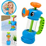 HARRYSTORE Child Baby Kids Bath Toy Shower Swimming Pool Water Toys Duck Design Water Pump Toy
