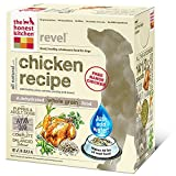 The Honest Kitchen Revel Organic Whole Grain Dog Food - Natural Human Grade Dehydrated Dog Food, Chicken, 10lbs (Makes 40 lbs)