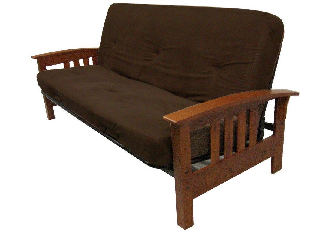 amazon    dhp 6 inch futon mattress chocolate brown  kitchen  u0026 dining amazon    dhp 6 inch futon mattress chocolate brown  kitchen      rh   amazon