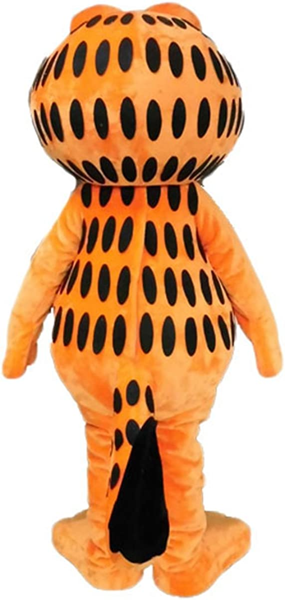 Amazon Com Garfield Cat Mascot Costume For Adult To Wear Cartoon Character Costumes For Party Deguisement Mascotte Clothing