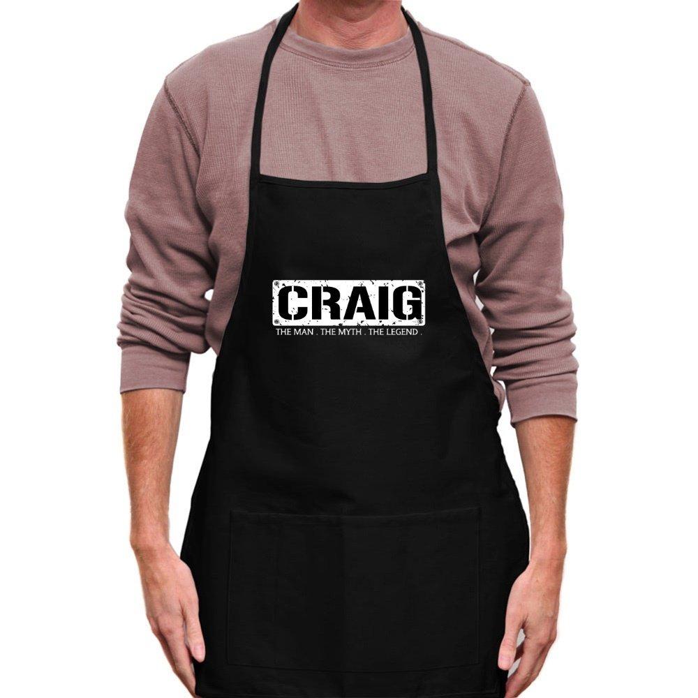 Teeburon Craig The Man The Myth The Legend Grembiule Abbigliamento da lavoro e divise