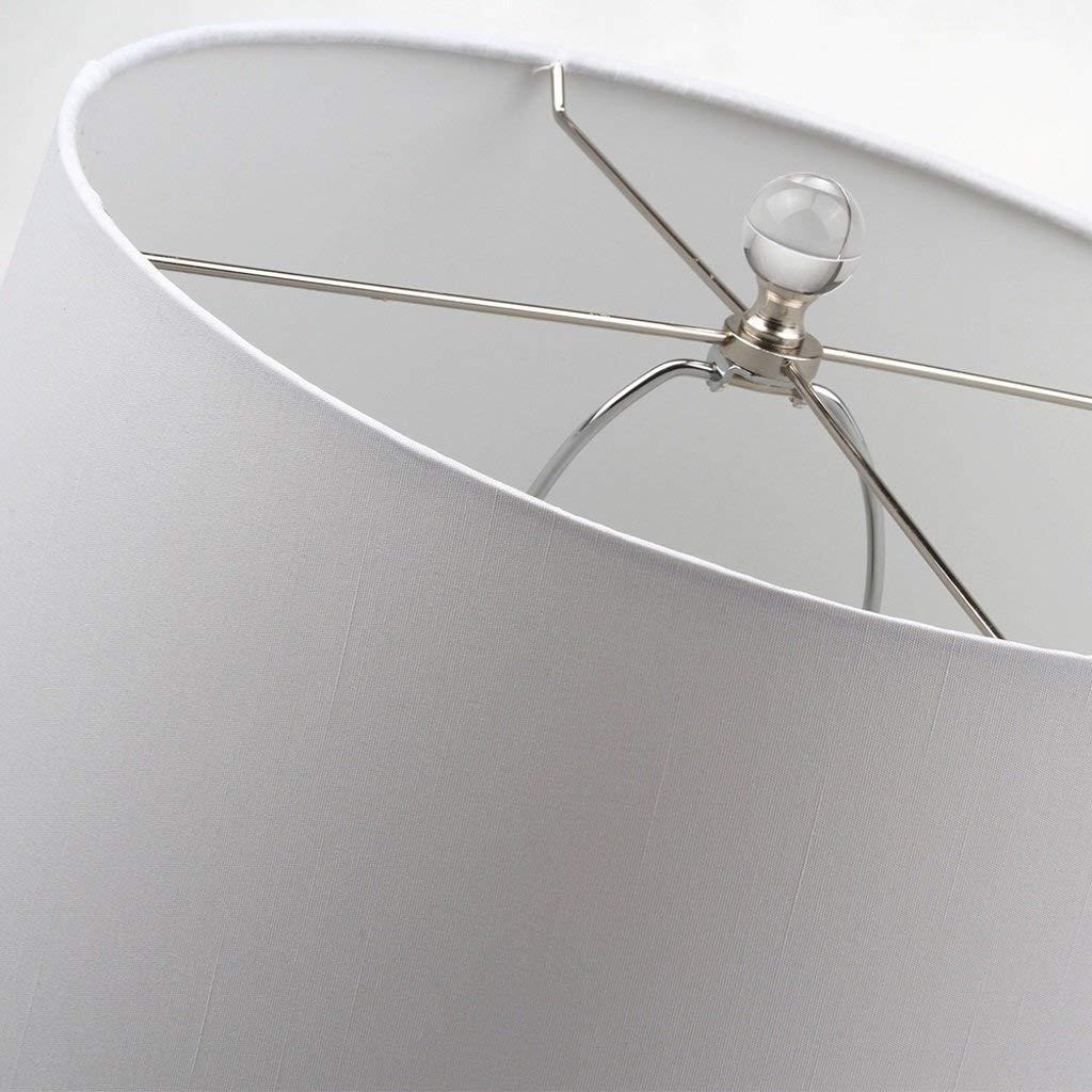 H48Cm BCCX Tischlampe Europäischen Kreative Conch Harz Tischlampe Warme Schlafzimmer Nachttischlampe Mode Wohnzimmer Romantisch W30Cm Weiß
