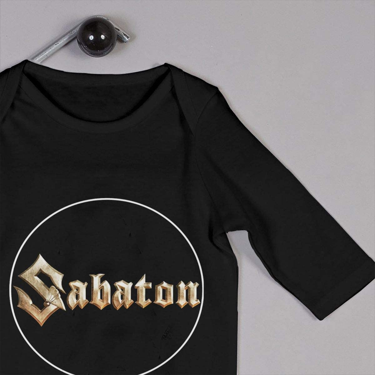 Qq1-asd-store Sabaton The Last Stand Boys//Girls Baby Cotton Long Sleeve Romper Warm Bodysuit