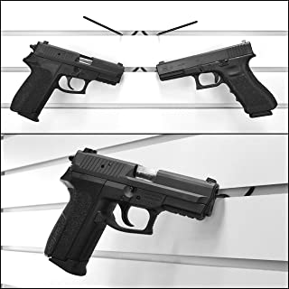 product image for Slatwall Hook for Standard Slatwall Brackets, Pistol Rack Hook for Gun Display