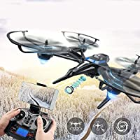 Cewaal Fighter Design Drone 2.4GHz 4-axis Gyro Altitude Hold Headless Mode 360 Degree Roll RC Quadcopter