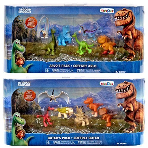 Disney Pixar The Good Dinosaur Butch & Arlo Figure Combo Pack - Exclusive