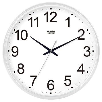 TLIANLU Reloj de Pared Sala-Cocina Office Reloj de Pared Reloj Relojes de Cuarzo decoración,12 la escuadra Cocina, el Pan Blanco -024: Amazon.es: Hogar