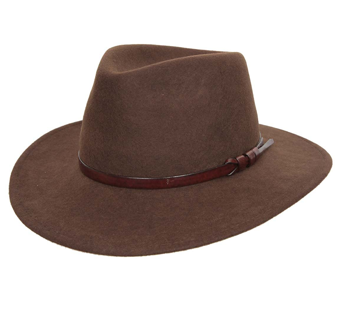 Classic Italy - Fedora Hat wool felt men Classique Large