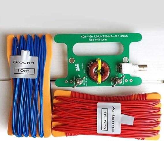 SDENSHI Tiny Low Cost 9: 1 Balun Long Wire Bloque De ...