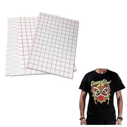 5 hojas de papel de transferencia de calor para impresora de ...