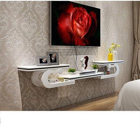 Parete Mobili Porta Tv Design.Weizi Scaffale Tv Mobile Console A Parete Console Multimediale Tv