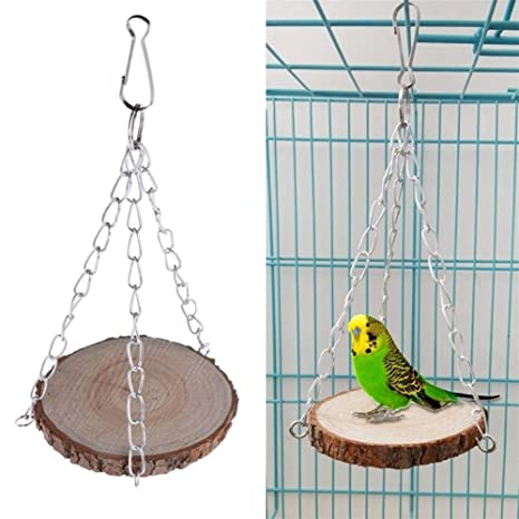368° inspiration Juguete pájaro Juguete jaula del loro del animal ...