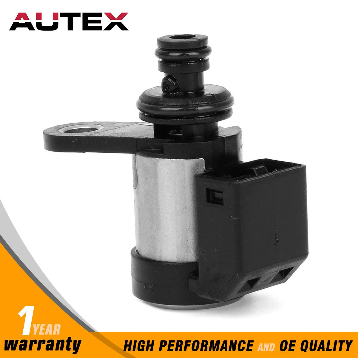 AUTEX RE5R05A 63421 Transmission PWM Line Pressure/TCC/Front Brake Solenoid 260130031 3194190X01 Compatible with Nissan 2002 Up/replacement for Infinity 2002 Up/compatible with Hyundai 2002 Up