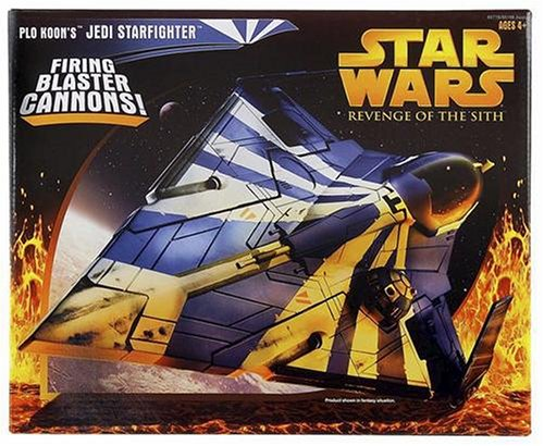 Star Wars Plo Koons Jedi Starfighter