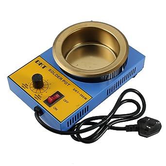 Sourcingmap AC 220V 50HZ300W - Soldador redondo para soldador (base de desoldad), color