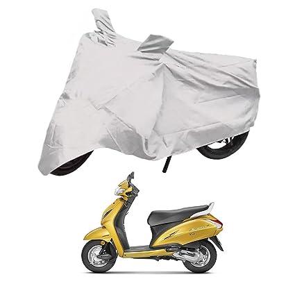 Deltakart Bike Cover for Honda Activa 5G (Silver)