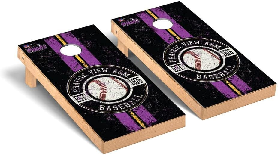 Prairie View A & M Panthers Cornhole Game Set野球ヴィンテージバージョン