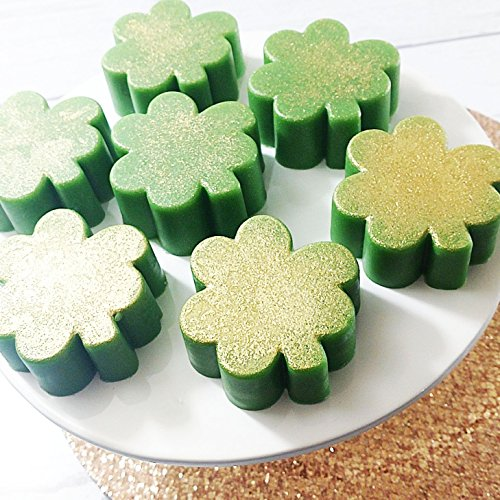Green Clover Shamrock St Patricks Day Natural Glycerin Soap (Shamrock Soap)